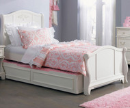 Arielle Sleigh Bed with Trundle Full Size