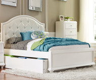 Stardust Panel Bed with Trundle Full Size
