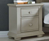 Summer House Nightstand Gray