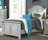Summer House Panel Bed Full Size Gray