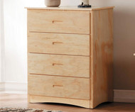 Stanford Four Drawer Chest Natural