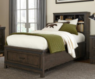 Thornwood Hills Bookcase Bed Full Size
