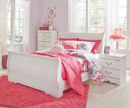 Anarasia Sleigh Bed Full Size