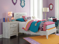 Paxberry Panel Bed Twin Size