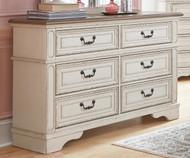 Realyn 6 Drawer Dresser