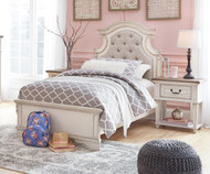 Realyn Upholstered Panel Bed Twin Size