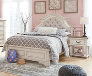 Realyn Upholstered Panel Bed Full Size
