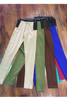 Rayon & Spandex Pants / Jeggings. 65% Rayon with Zipper & Black Elastic Waist! Forest Green.