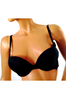 "Hi Quality ""Boost Your Assets"" Bra Adds 2 Cups! Black with Hot Pink Interior."