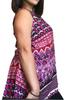 Plus Size Boho Sleeveless Tunic! 100% Rayon.