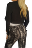 FADED GLORY! 100% Rayon Striped Palazzo Pants Tie At The Waist. Black/White.