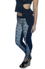 Black Skinny Jeans. White Lace Overlay.Boutique Brand:| CHOCOLATE USA