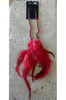 RUE 21 Boho Chic Feather Earrings. Red.