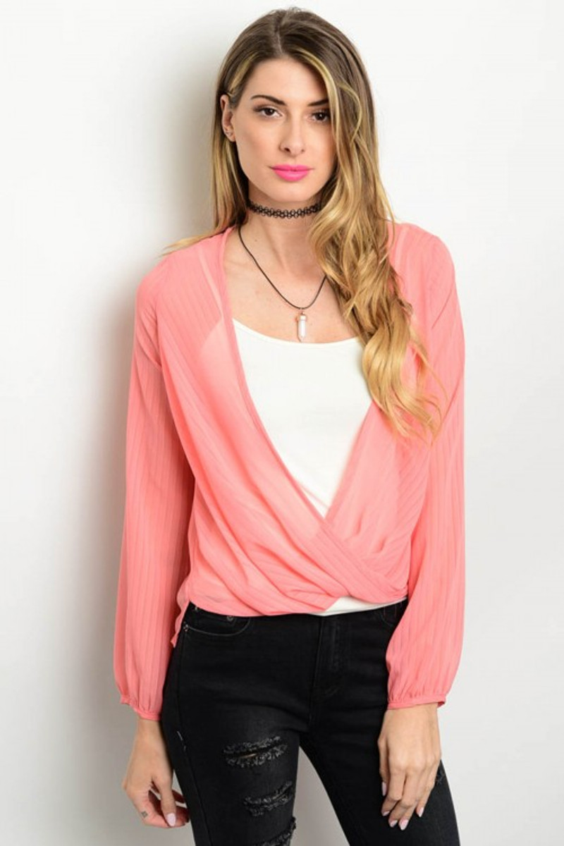 Peach Coverup Cardigan is Lightweight and Trendy!