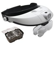 5 Lens Binocular Visor with dual LED
