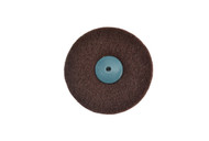 """Satin Finish Wheel 4"""" x 2 Ply W/Plastic Center For Tapered Spindle Fine Grade (pack of 1)"""