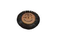 """Wood Hub Brush, 1 Row of Bristle, 3-1/8"""" Overall Diameter (pack of 1)"""