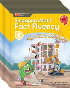 Singapore Math® Fact Fluency - Grade K (10 Pack of the same book)
