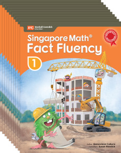 Singapore Math® Fact Fluency - Grade 1 (10 Pack of the same book)