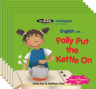 English with...Polly Put the Kettle On (6 Pack)