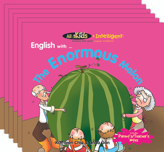 English with...The Enormous Melon (6 Pack)