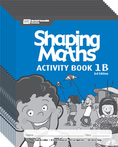 Shaping Maths: Activity Book Grade 1B (10 Pack)