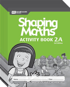 Shaping Maths: Activity Book Grade 2A (10 Pack)