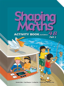 Shaping Maths: Activity Book Grade 4B (10 Pack)