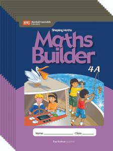 Shaping Maths: Maths Builder Grade 4A (10 Pack)