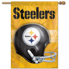 NFL Pittsburgh Steelers  - 27 in. x 37 in. Vertical Hanging Flag