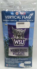 Weber State University  - 27 in. x 37 in. Vertical Hanging Flag