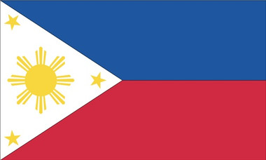 Philippines 4 Quot X6 Quot Hand Held Flags Set Of 6