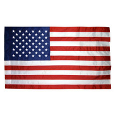 3'x5' United States Indoor Nylon - Plain