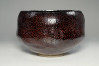 sale: KURO RAKU CHAWAN Japanese Pottery Tea Bowl by Sasaki Shoraku