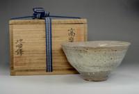 sale: IDO CHAWAN / Korean Pottery Bowl by Ji Soon Tak w Box