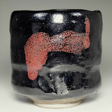 sale: 7th Raku Chonyu antique aka-raku tea bowl