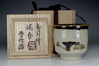 sale: Vintage mashiko tea cup by Hamada Shoji