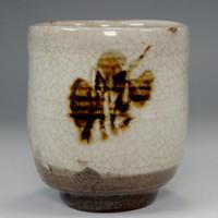 sale: Vintage yunomi in mashiko ware by Tamura Koichi