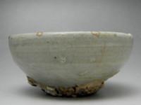 Vintage Jade Green Korean Celadon Porcelain Cup