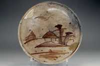 sale: Andon-Zara' antique seto pottery plate