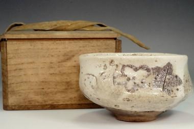 sale: Antique crackle glazed tea bowl