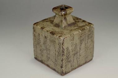 sale: Shimaoka Tatsuzo 'jomon zogan' mashiko pottery vase
