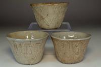 sale: Otagaki Rengetsu 'hai kamuri' ashe glazed poem cup