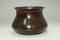 sale: vintage 'Kensui' copper waste-water container by Joeki