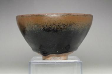 sale: Tenmoku chawan' Jian yoa hare's fur glazed tea bowl