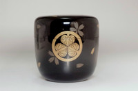 sale: natsume japanese lacquered tea caddy