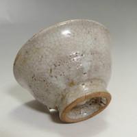Vintage Gray Korean Pottery Liquor Cup