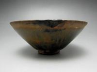 Vintage Chinese Jianyao Pottery Tea Bowl #1213