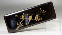 sale: FUBAKO Vintage Japanese Gold Lacquer Box