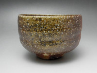 Japanese Tea Bowl SHIGARAKI CHAWAN Original Pottery for Tea Ceremony #1141